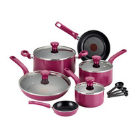 T-fal Excite 14 Piece Cookware Set with Thermo-Spot