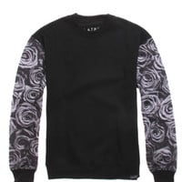 LATHC Black Roses Crew Fleece at PacSun.com
