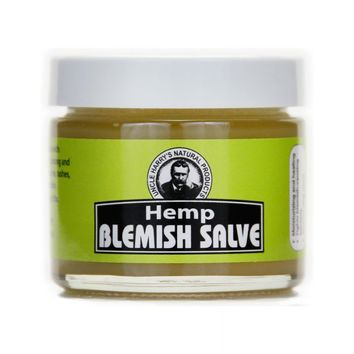 Hemp Blemish Salve (2 oz glass jar)