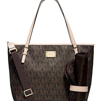 MICHAEL Michael Kors Signature Jet Set Diaper Bag