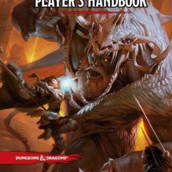 Dungeons & Dragons Player's Handbook: Everything a Player Needs to Create Heroic Characters for the World's Greatest Roleplaying Game