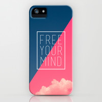 Free Your Mind III iPhone & iPod Case by Galaxy Eyes