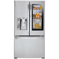 LG - LFXC24796S - Counter-Depth InstaView Door-in-Door® Refrigerator– Stainless Steel | Sears Outlet