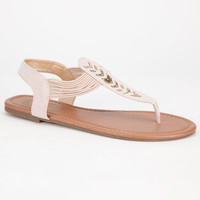 Celebrity Nyc Grandstep Womens Sandals Tan  In Sizes
