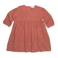 Blu Pony Vintage Girls' Marmalade Zuzu Dress