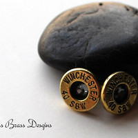 40mm Winchester Bullet Earrings