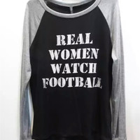 Real Women Watch Football Black