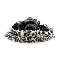 Cheetah Grey Scarf Camera Strap - Capturing Couture - CASCARF-CHGY
