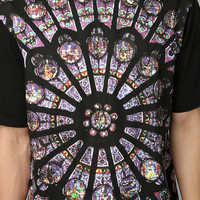 Black Scale Stained Graphic Tee - Urban Outfitters