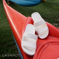 White Classic Jandals® - Pali Hawaii Sandals