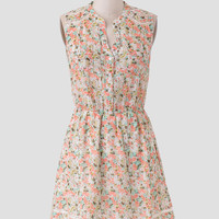 Blooming Meadows Floral Dress