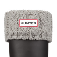 Hunter UK | Dual Cable Knit Boot Socks | Official Site