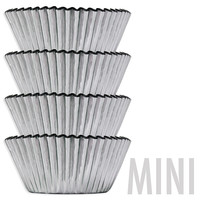 Mini Silver Foil Baking Cups