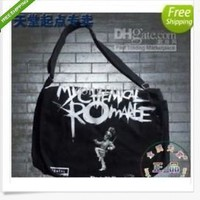 Canvas shoulder messenger bag EMO band My Chemical Romance