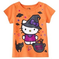 Hello Kitty™ Infant Toddler Girls' Tee - Pumpkin