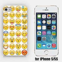 for iPhone 5/5S - Emoji Collection - Ship from Vietnam - US Registered Brand