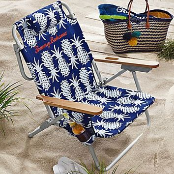 Pineapple Deluxe Backpack Beach Chair