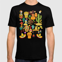 Fiesta Time! Mexican Icons T-shirt by gx9designs