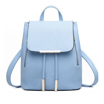 Fashion Backpack Women Leather Backpack Schoolbag Rucksacks Mochilas for Travel Shoulder Bags Satchel Bags Bolsa Feminina 1STL