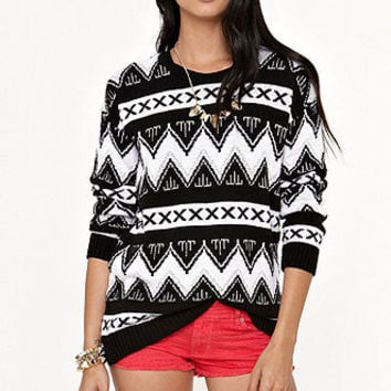 Kirra Tribal Pullover Sweater at PacSun.com