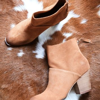 Kind Heart Suede Boot, Brown | Chinese Laundry
