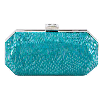 Embossed Hexagonal Clutch