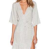 BOYS + ARROWS The Gin & Tonic Robe in White