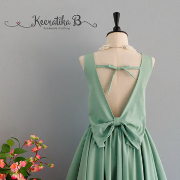 Party Angel Dress Sage Green Backless Party Dress Sage Backless Dress Prom Party Wedding Cocktail Bridesmaid Dresses Sage Green Dress XS-XL