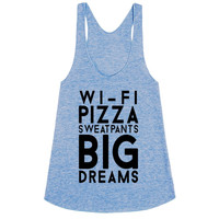 Wifi Pizza Sweatpants Big Dreams