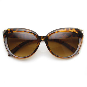 Mod Retro Oversize Bold Cat Eye Womens Fashion Sunglasses 9224