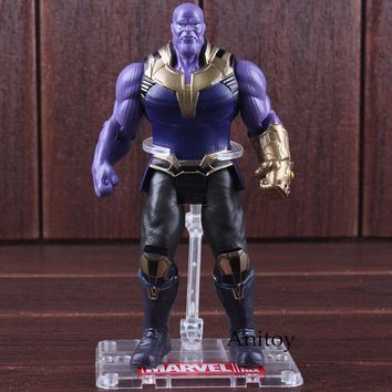 Marvel Avengers 3 Infinity War Figures Thanos Toys PVC Marvel Action Figures Thanos Collectible Model Toy 16.5cm