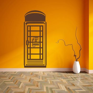 Telephone Cell Wall Decal