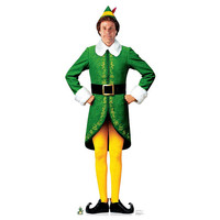 Buddy the Elf - Movie Elf Life-Size Cardboard Cutout