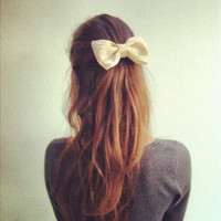 Exclusive Edition GOLD big bow (S-N-007)