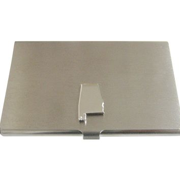 Alabama State Map Shape Business Card Holder