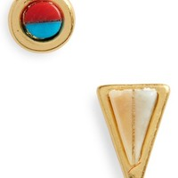Madewell Delicate Mismatched Stud Earrings | Nordstrom