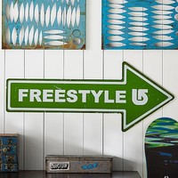 Burton Freestyle Sign