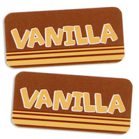 Vanilla Bakery Labels
