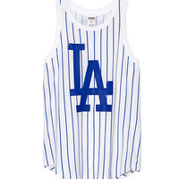 Los Angeles Dodgers Muscle Tank - PINK - Victoria's Secret