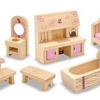 Melissa & Doug Castle Furniture Set