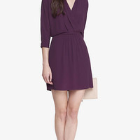 Surplice Dolman Sleeve Dress from EXPRESS