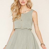 Tie-Back Mini Dress | Forever 21 - 2000150132