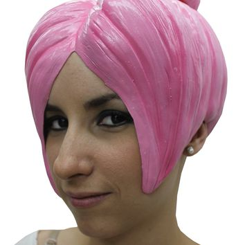 Anime Wig Style 4 Latex Pink