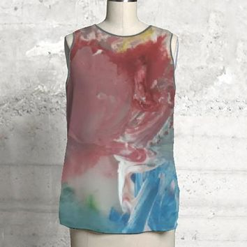 Abstract Paint Top