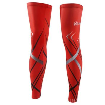 XINTOWN Quick-drying Cycling Legwarmer Breathable Bike Bicycle Guard Knee Warm Leg Sleeves Covers Windproof Leg Cover