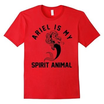 Disney Little Mermaid Ariel My Spirit Animal Graphic T-Shirt