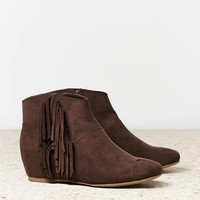 AEO Fringed Bootie | American Eagle Outfitters