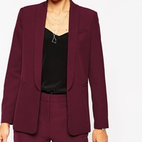 ASOS Premium Tailored Edge to Edge Blazer at asos.com