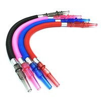 Can Be Elongated Shisha Hookah Hose Black Red Pink Blue Water Pipe Sheesha Chicha Narguile Accessories SH502