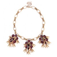 Sole Society Cluster Fringe Statement Necklace